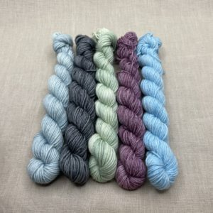 Mini Sock Set #107 pastel